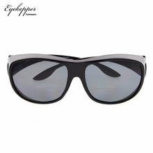 S030PGSG Eyekepper Oversize Polarized Bifocal Sunglasses Fit