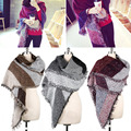 Winter Women's Thick Warm Wool Pashmina Cashmere Stole Scarves Scarf Shawl Wraps -Y107