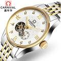 Swiseland Carnival брендовые Роскошные мужские часы автоматические механические часы мужские сапфировые часы reloj hombre relogio наручные часы C8671-3