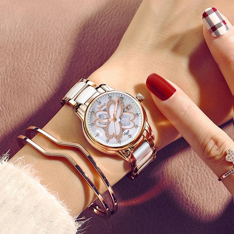 Nesun Womens Creative Fashion Luxury Top Brand Watches Women Waterproof Diamond Analog Quartz Wristwatches Relogio FemininoNesun Womens Creative Fashion Luxury Top Brand Watches Women Waterproof Diamond Analog Quartz Wristwatches Relogio Feminino