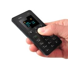 Aiek M5 Unlocked small Bar Mobile Phone For Children Women Kids Girls Lady Cute Mini Vibration Ultrathin Card Cell Phone P220
