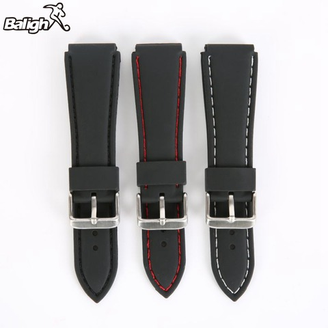 Newest Fashion Fashion Silicone  Watch Band Men Women Wristwatch Strap  18,20,22, 24mm Wrist Bracelet  Watches Accessories Pakistan