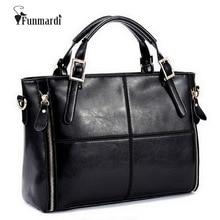 Funmardi bolsas de luxo bolsas femininas designer split bolsas de couro bolsa feminina marca top lidar com sacos de ombro feminino wlhb974