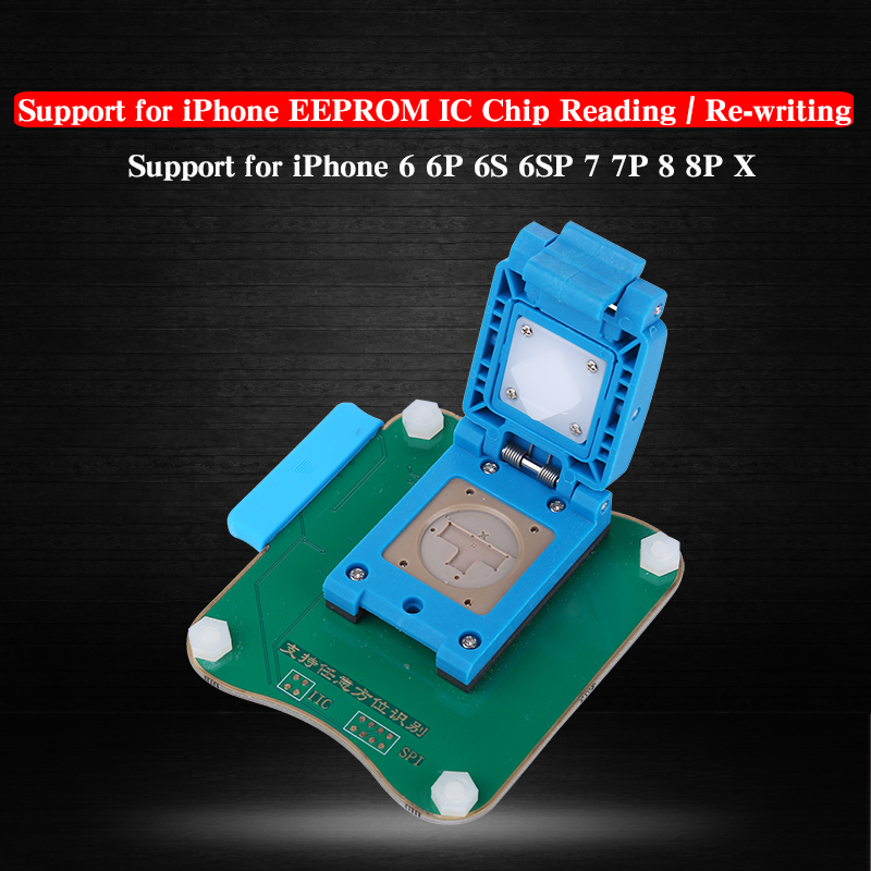 JC Pro1000S Multi-Functional EEPROM IC Chip Read Write Module For iPhone 6 6P 6s 6sp 7 7P 8 8P X Motherboard Repair ToolJC Pro1000S Multi-Functional EEPROM IC Chip Read Write Module For iPhone 6 6P 6s 6sp 7 7P 8 8P X Motherboard Repair Tool