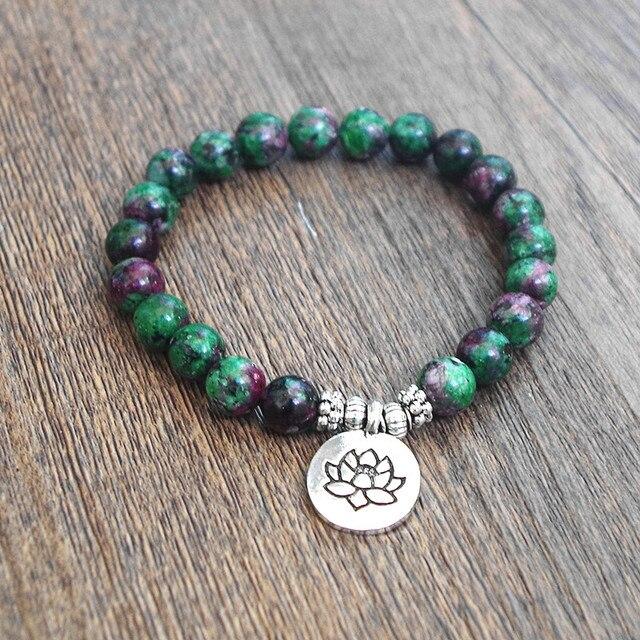 Bracelet Chakra Homme Vert