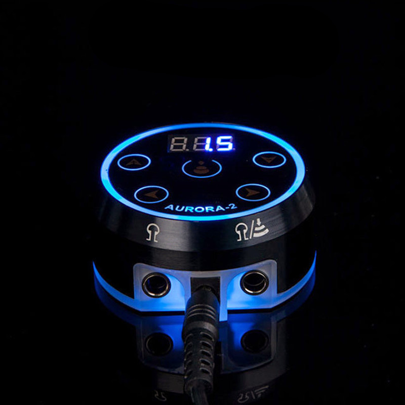 2018 New Mini AURORA LED Touch Pad Tattoo Power Supply - TPS12#