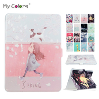 Tab S2 T815 T810 PU Leather Tablet Case Cover Protective Stand 9 7 Smart Skin For