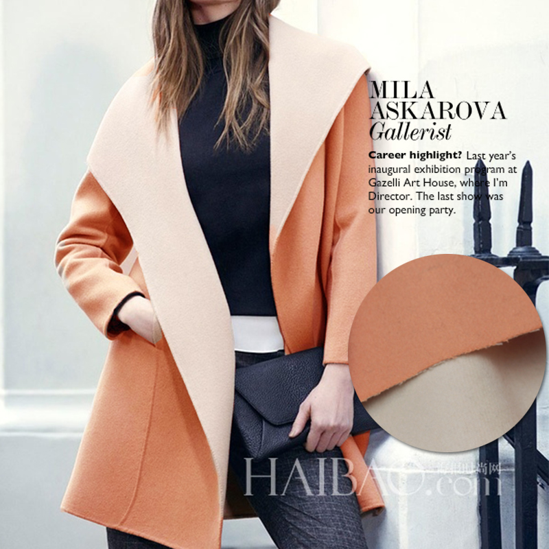Compare Prices on Wool Cashmere Coat Fabric Beige- Online Shopping ...