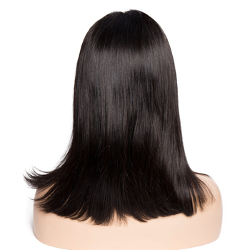 Glueless Bob Wig Brazilian Straight Short Lace Front Human Hair Wigs For Black Women Pre Plucked With Baby Hair Remy Hair 2