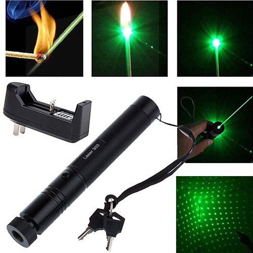 New Design Military 532nm 5mw 303 Green Laser Pointer Lazer Pen Burning Beam +ChargerNew Design Military 532nm 5mw 303 Green Laser Pointer Lazer Pen Burning Beam +Charger
