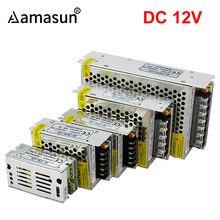 Fuente de alimentación conmutada para tira de luces Led, adaptador de corriente AC 85-240 V a DC 12V, 1A, 2A, 3A, 5A, 8.5A, 10A, 15A, 20A, 30A, 360W, 265 W