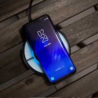 Nillkin Magic Disk Fast Charger For Iphone X 8 Plus Qi Fast Wireless Charging Pad For