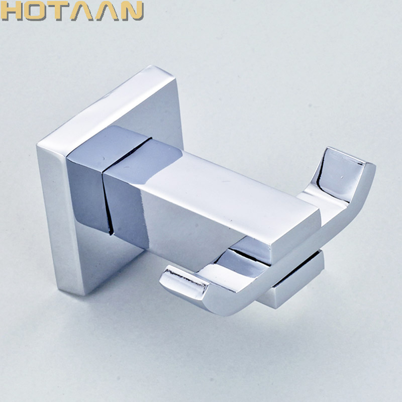 Robe Hook,Clothes Hook,Stainless Steel Construction with Chrome FInish,Square Bathroom hook Bathroom Accessories,YT-11302 ydl jd 937 stainless steel bathroom clothes hook silver page 8