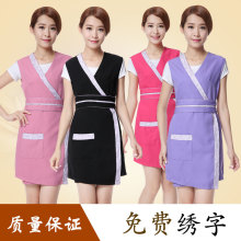 Beauty Salon Beautician apron nail salon artist apron high quality apron