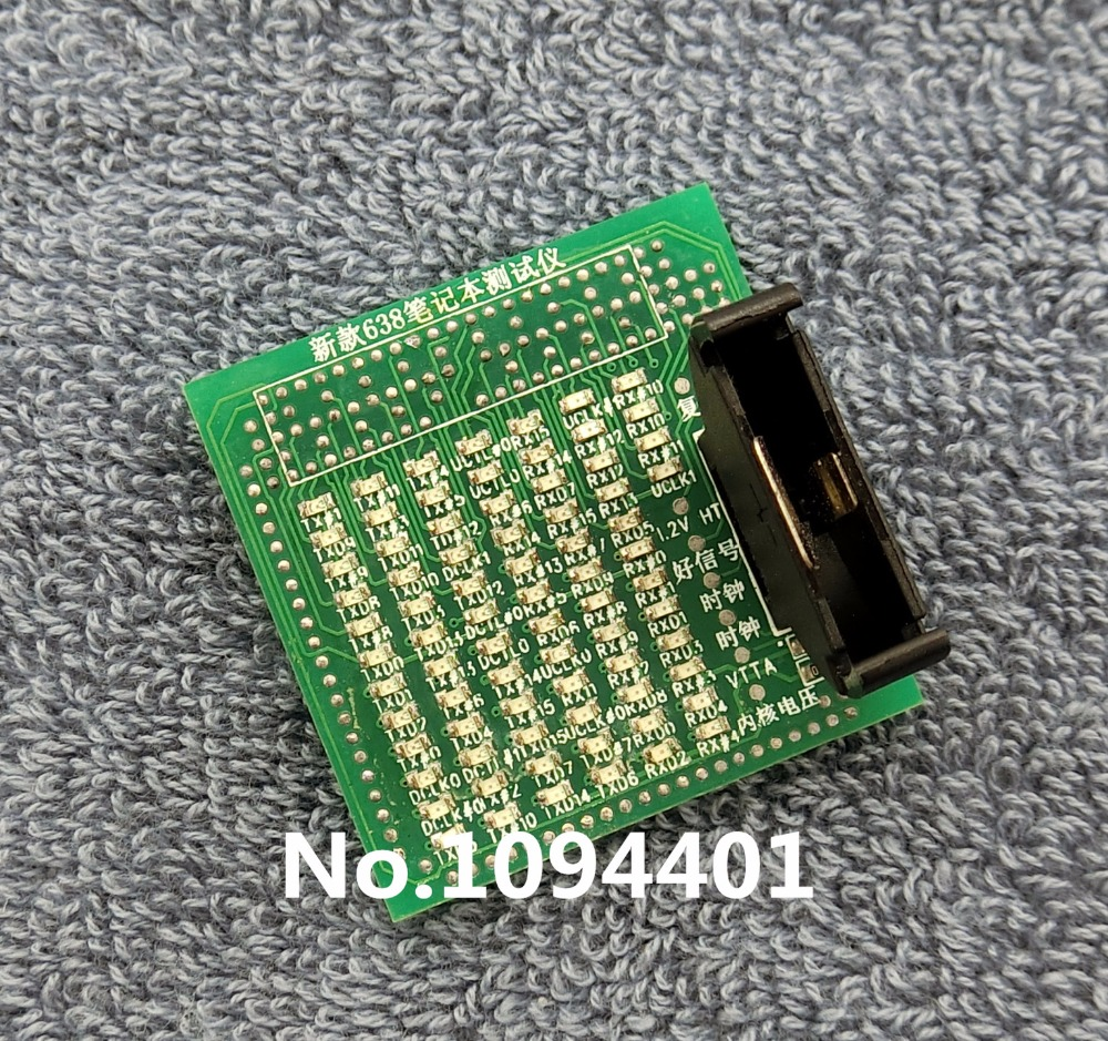 1pcs*  Brand New S1 638  AMD638  Tester CPU Socket Tester Dummy Load  with LED Indicator desktop cpu 775 socket tester cpu socket analyzer dummy load fake load with led