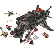 991Pcs 벽돌 Batmobile 자동차 배트맨 슈퍼 영웅 모델 빌딩 블록 소년 생일 선물 어린이 교육 조립 완구