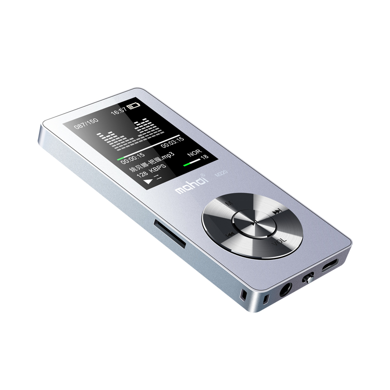 Metal Mp3 Player Portable Digital Audio Player With 1.8 Inch Screen FM E-Book Recording  Clock TF Card