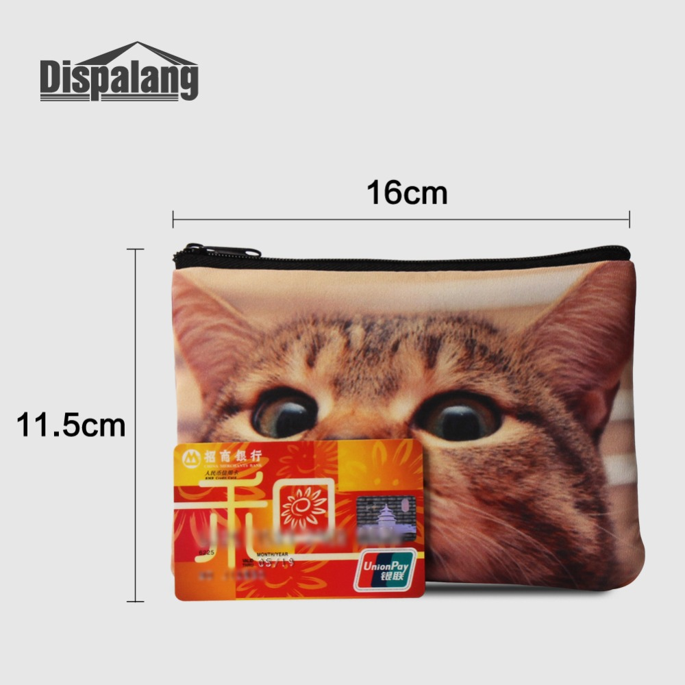 Coin Purses Dispalang Newest Coin Purse Colorful Zipper Zero Wallet Child Girl Boy Women Purse Lady Coin Bag Key Packet Travel Makeup Case Luggage & Bags