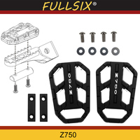 Motorcycle Accessories FOR KAWASAKI Z750 Z 750 2004 2012 CNC Aluminum Alloy Widened Pedals