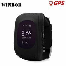 HOT Q50 Smart watch Children Kid Wristwatch GSM GPRS GPS Locator Tracker Anti Lost Smartwatch Child