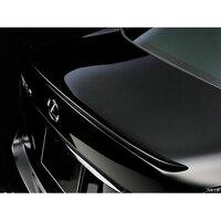 For Lexus LS460 LS600 Spoiler PU Material Car Rear Wing Primer Color Rear Spoiler For Lexus Spoiler 2005 2012