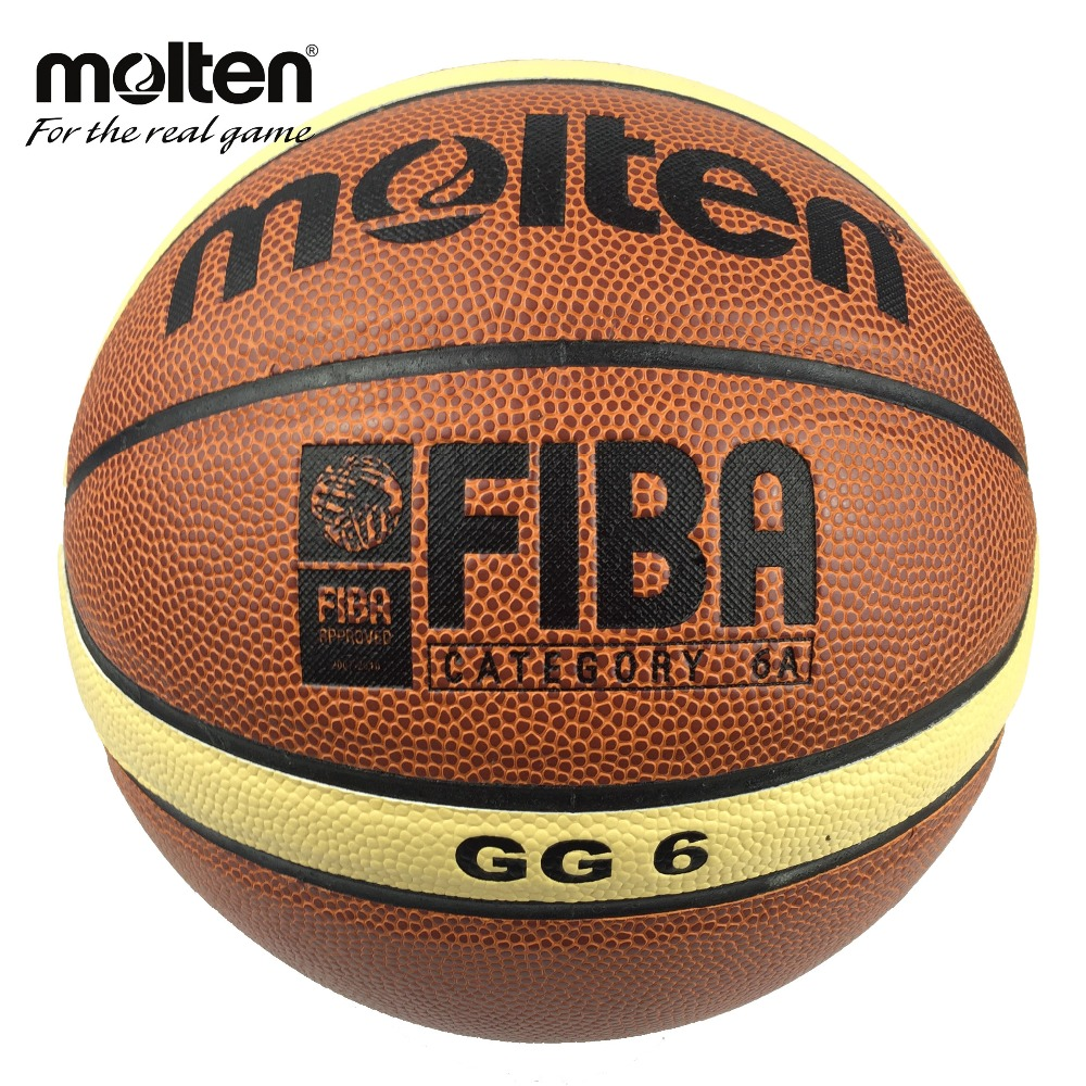 GG6 Basketball Ball Professional Women's Basketball Ball Molten PU Leather Official