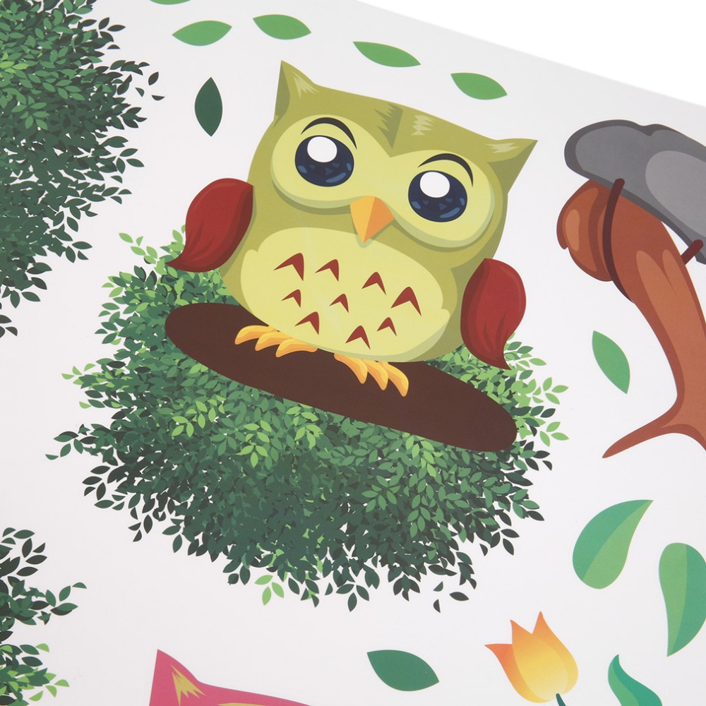 Contemporary Owl Wall Decorations Motif - Wall Art Collections ...