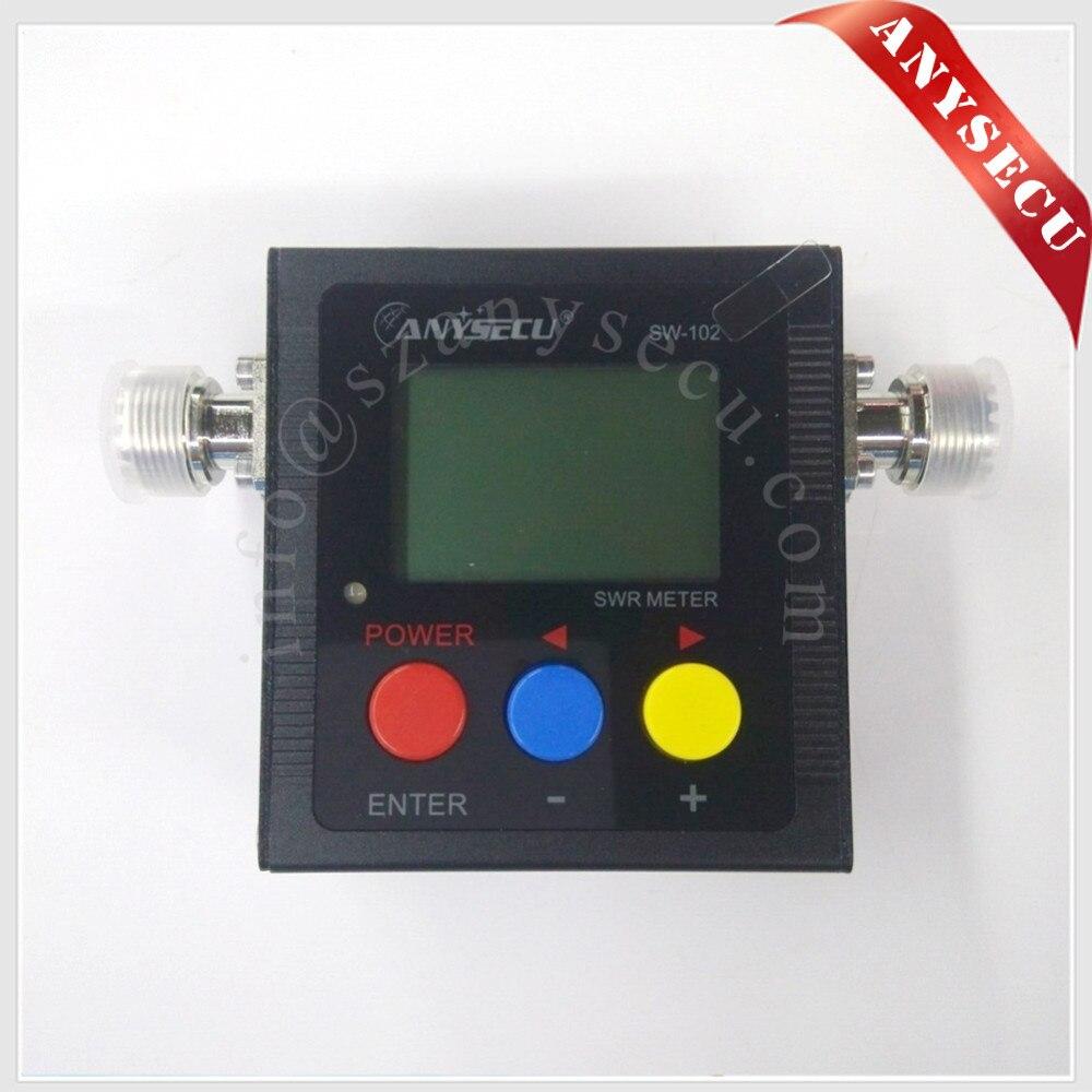 Numérique Power & Swr SW-102 SW102 VHF/UHF 125-520 Mhz SW102 Pour mobile radio KT-8900 KT-7900D KT-8900D Émetteur-Récepteur