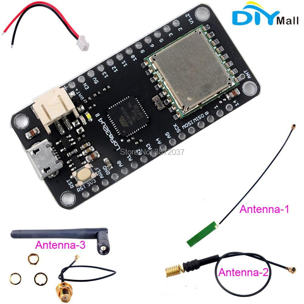 LoRa32u4 II Entwicklungsboard 868 MHz 915 MHz Lora Modul IOT SX1276 HPD13 Wifi Transceiver Modul Antenne JST Stecker