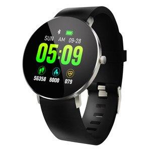 Image 1 - Inteligentny zegarek bransoletka F25 pełnoekranowy dotykowy lokalizator GPS pulsometr Monitor ciśnienia krwi nadgarstek Sport SmartBracelet