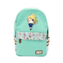 Аниме lovelive Косплей Минами Kotori Cos мультфильм вокруг плеча рюкзак мужчина и женщина студент дорожная сумка подарок на день рождения