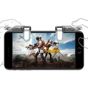 Image 5 - PUBG Mobile l1r1 shooter pulsante del controller joystick gamepad per android smart phone per il iphone universale del telefono gioco trigger fuoco