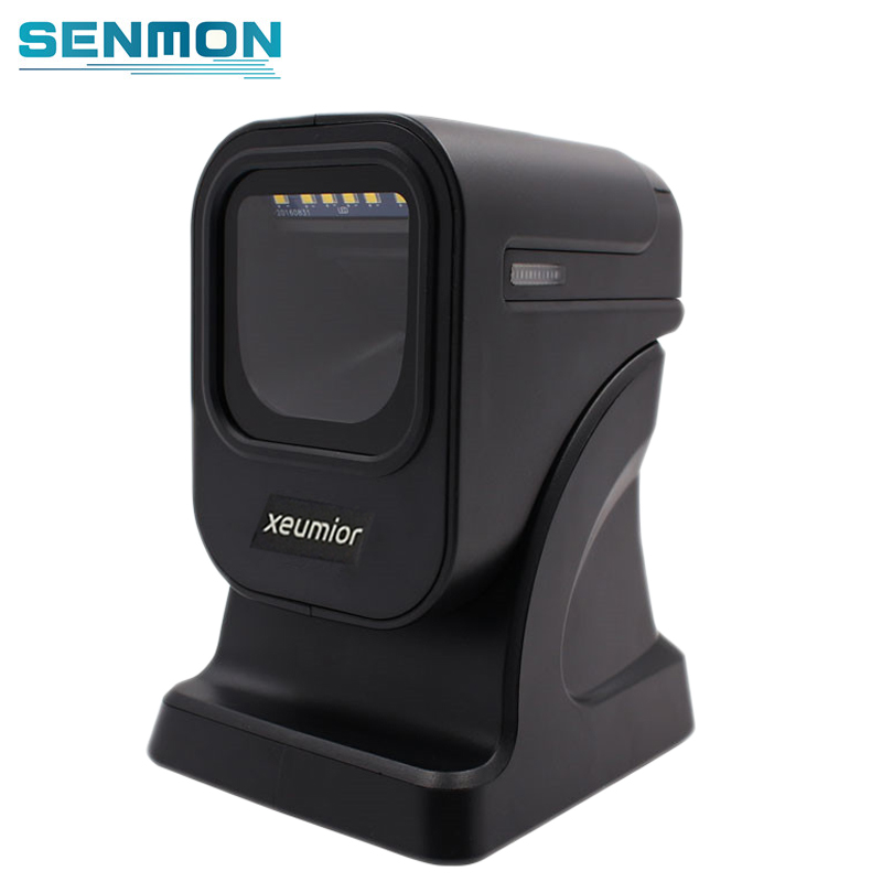 Freeshipping SM-8200 2D Image Desktop Omnidirectional Bar code Reader Flatbed Barcode Scanner 2D Qr Scanner Reader desktop omnidirectional 1d 2d ccd image laser barcode scanner for supermarket usb pos bar code reader auto scan 2d qr code