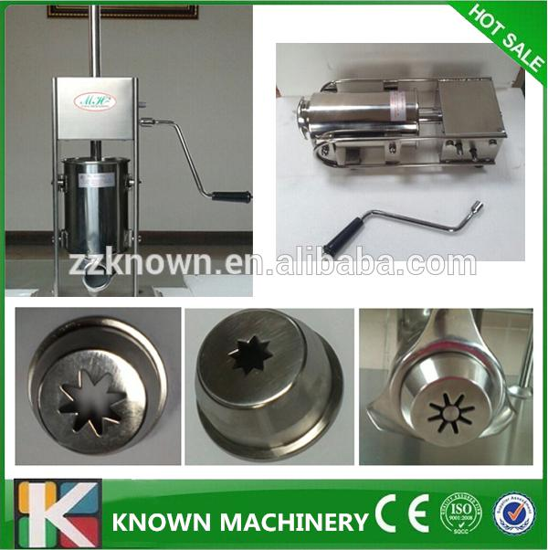 5L manual churros making machine for sale / best quality churros maker(also produce 7L 12L) 2016 new machine manual press badge making machine factory direct sale