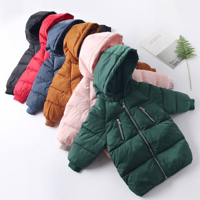 Special Offers New 2018 Children Jackets Boys Girls Winter down coat Baby Winter Coat Kids warm outerwear Hooded Coat snowsuit Overcoat Clothes