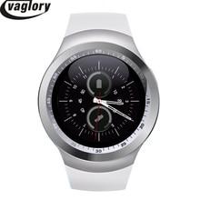 """1.54 """"smart watch mtk6261 bluetooth smartwatch y1 apoyo nano sim tarjeta y tarjeta de tf con whatsapp y facebook y twitter APP"""