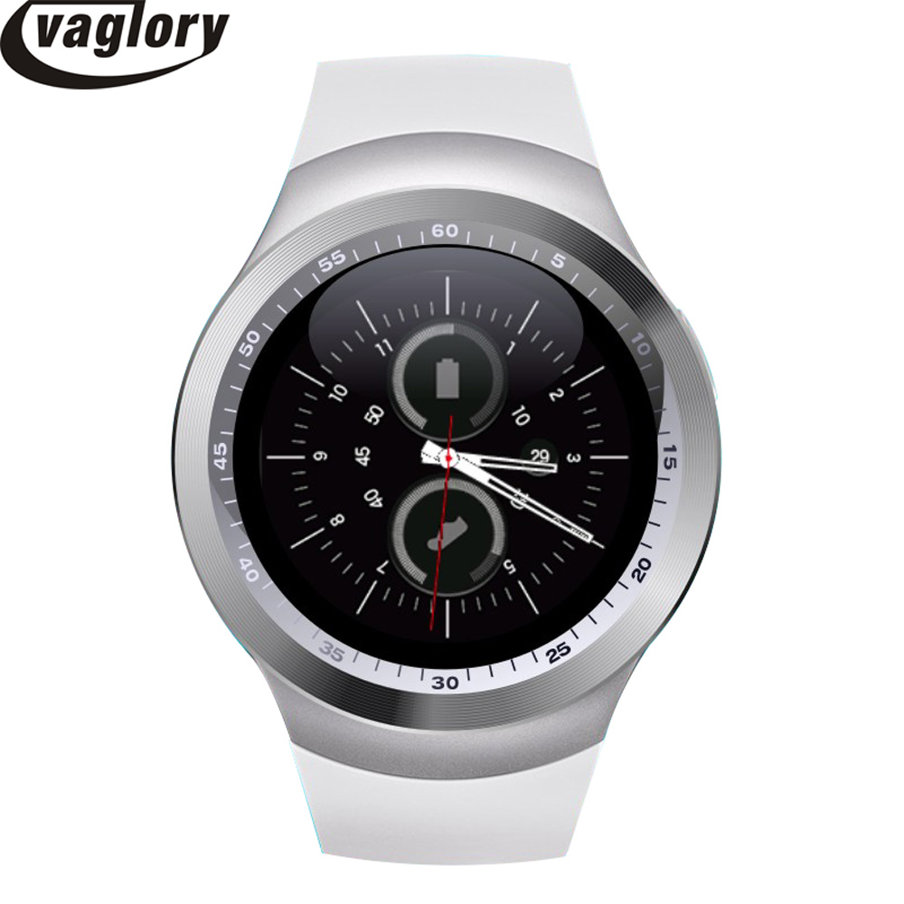 """imágenes para 1.54 """"smart watch mtk6261 bluetooth smartwatch y1 apoyo nano sim tarjeta y tarjeta de tf con whatsapp y facebook y twitter APP"""