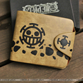 Anime One piece Luffy / Trafalgar Law Men Cosplay Wallet Purses Children Kids toy Card Credit Case Holder NEW