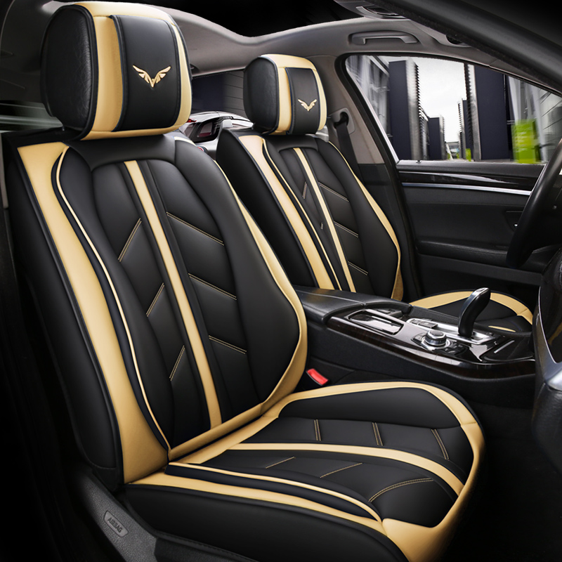 luxury leather Four Seasons Car Styling Car accessories Car Seat Covers For BMW Audi Toyota volkswagen Ford All Sedan