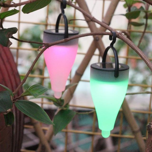 6pcs Solar Power RGB LED Landscape Outdoor Led Solar Light Festival Decoration Lamp Birthday Party Ambiance Solar Light