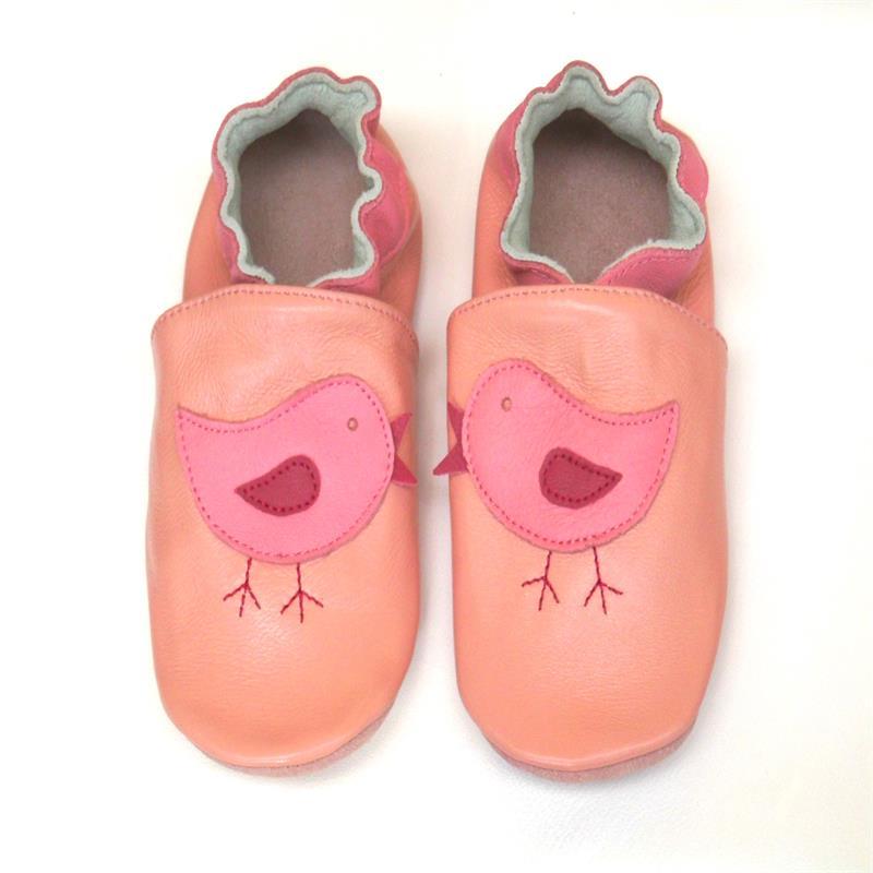 Гарантированная детская обувь из натуральной кожи на мягкой подошве; 1013; обувь для маленьких девочек; обувь для новорожденных; кожаная обувь для младенцев - Цвет: bird