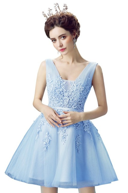 New-Evening-Dresses-2019-A-Line-Lace-Appliques-Lace-Up-Back-V-Neck-Short-Evening-Dress.jpg_640x640 (3)