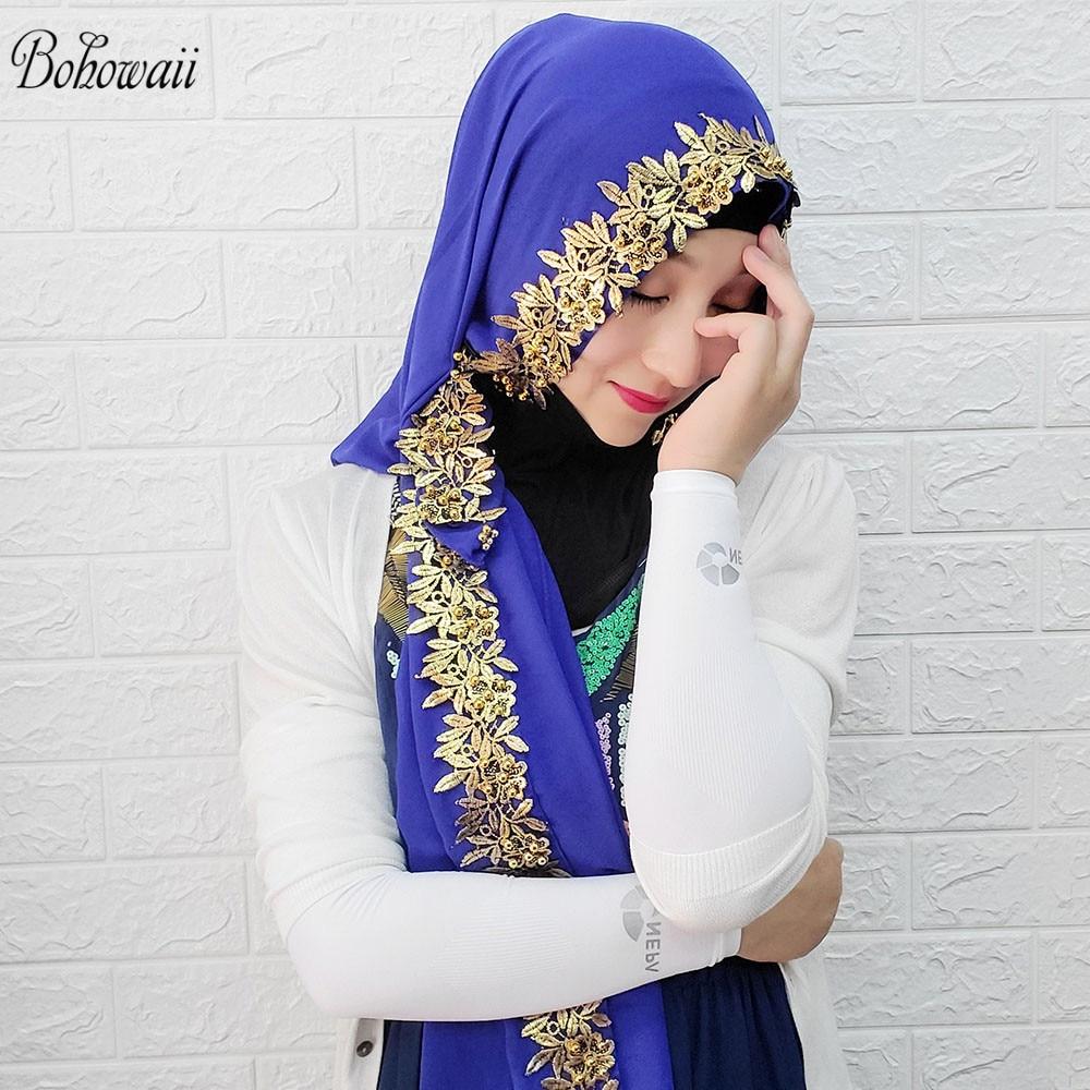 Muslim Ramadan Hijabs Fashion Women