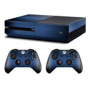 Image 2 - Metal Brushed Skin Sticker Decal For Microsoft Xbox One Console and Kinect and 2 Controllers For Xbox One Skin Sticker Vinyl