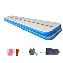 19.7ft Inflatable 6m Air Track 20cmProfessional Tumbling Mat for Gymnastics Airtrack Floor Mats with Free Electric Air Pump 600w недорого