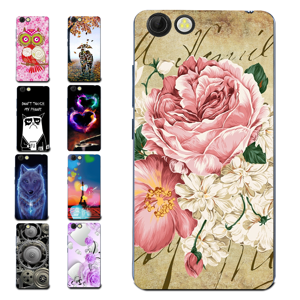 Floral Sleepy Darling Baby Cat Animal Case For Prestigio Muze D3 PSP3530 DUO Back Cover Bag TPU Cases