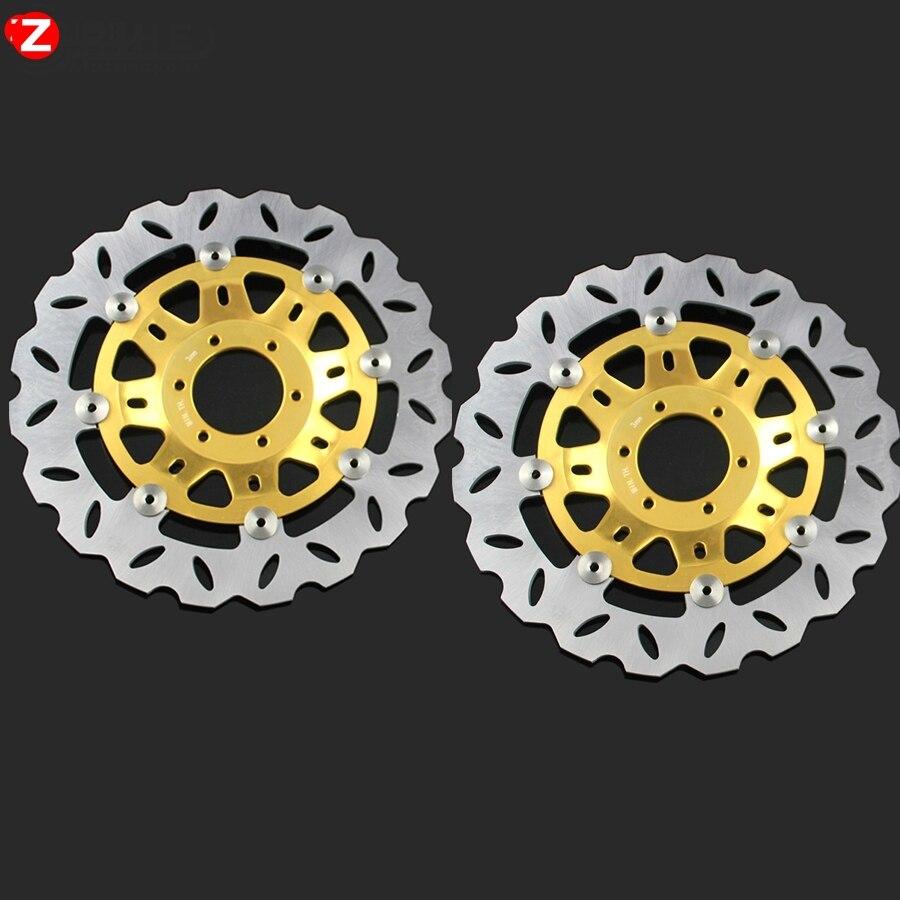 Мотоцикл тормозные диски передние тормозные диски ротора для Honda NSR250 CBR250 MC22 CBR400 NC23 NC29 Р3 Р4 ЦБР 400 SuperFour cb400 и