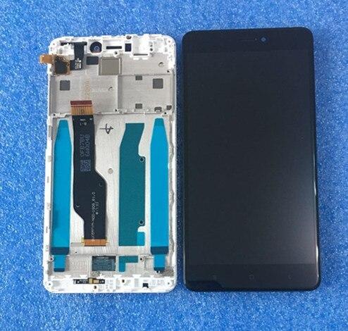 Orignal Axisinter Pour Xiaomi Redmi Note 4X Note 4 Mondial Version Snapdragon 625 écran lcd D'affichage Avec Cadre + Tactile Digitizer