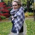 Горячая распродажа новый зимний шарф женщин мода кашемир шарф теплый плед отпечатано мягкая пашмины долго платок бесплатная доставка