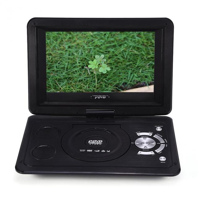 VBESTLIFE 139inch 110 240V HD TV Portable DVD Player 800480 Resolution 169 LCD Screen For EU Plug Players 2018 New